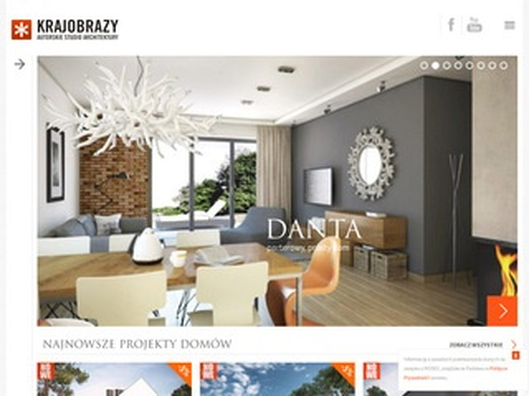 Studiokrajobrazy.pl projekty domów