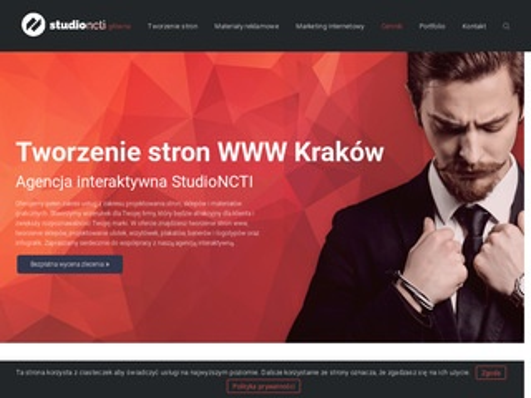 Studioncti.pl projektowanie stron Kraków