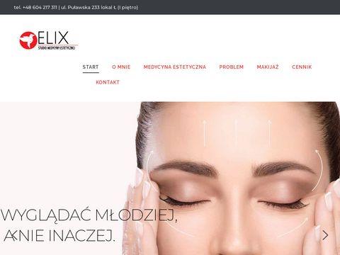 StudioElix.pl - usuwanie zmarszczek Warszawa