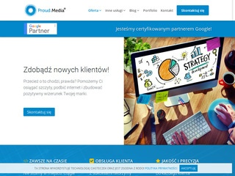 Bielska Fabryka Stron kampanie Adwords Bielsko