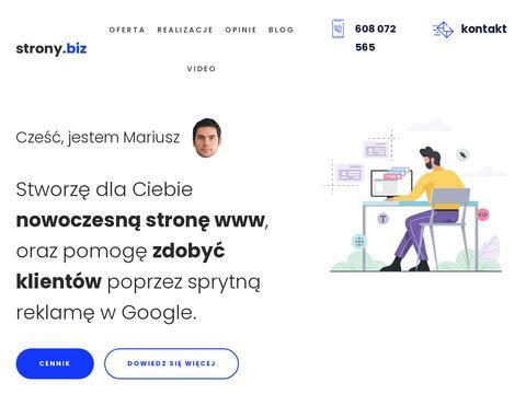 Strony.biz nowoczesne sklepy internetowe