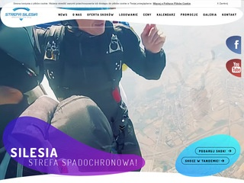 StrefaSilesia.pl - skoki spadochronowe