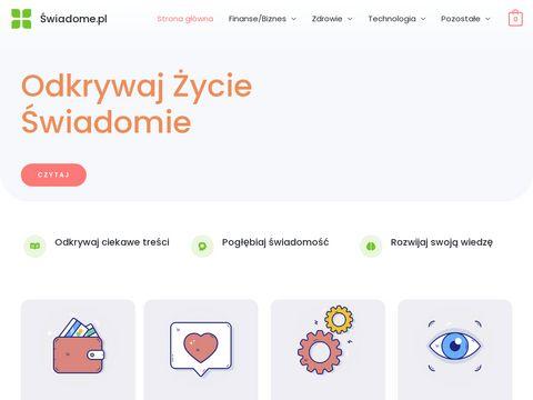 Swiadome.pl rozwój świadomości