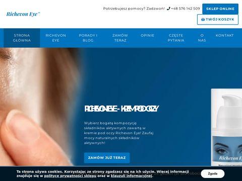 Richevoneye.pl naturalny krem pod oczy