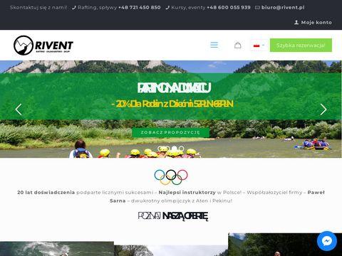 Rivent - Rafting - spływy kajakowe