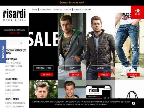 Risardi - sklep z męska odzieżą
