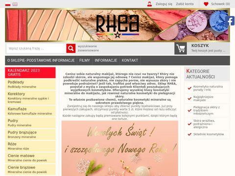 Rhea.com.pl sklep on-line z kosmetykami