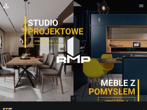 Rmprojektowaniewnetrz.pl fronty lakierowane