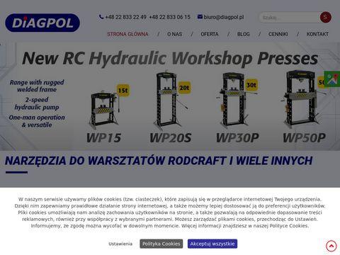 Diagpol narzędzia pneumatyczne Rodcraft