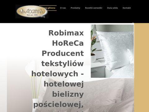 Robimax.com.pl falbany do stołów