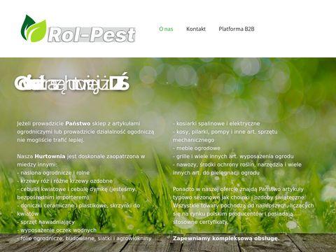 Hurtownia Ogrodnicza Rol – Pest Sp.zo.o. Łysomice
