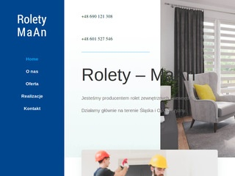 Roletymaan.pl montaż Śląsk
