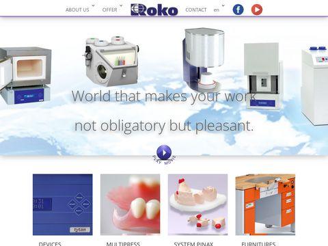 Rokodent.com - biurka protetyczne