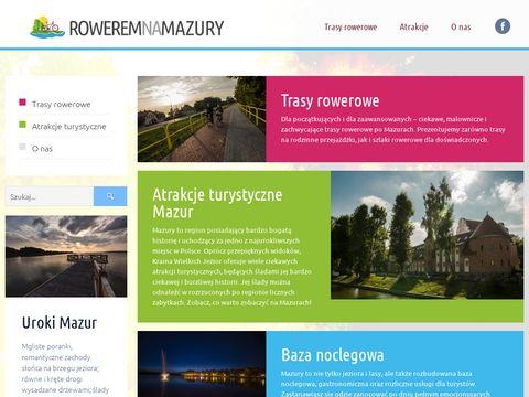 Roweremnamazury.pl - trasy rowerowe
