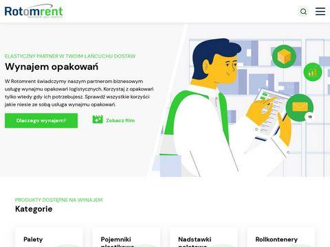 Rotomrent.pl - pojemniki metalowe Gitterbox
