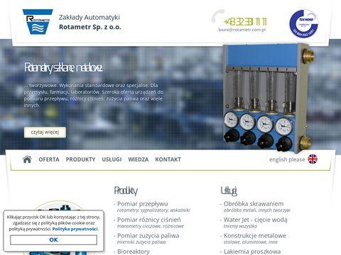 Rotametr.com.pl apartura kontrlono-pomiarowa