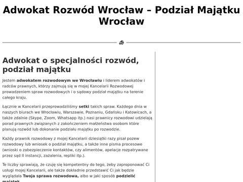 Rozwod-i-podzial-majatku.pl - Adwokat rozwód