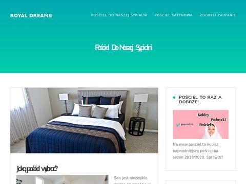 Royaldreams.com.pl pościel satynowa