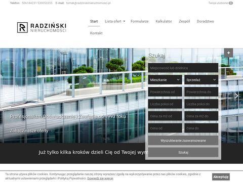 Ahn Apartament Radziński mieszkania Gorzów