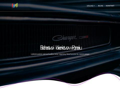 Zakład Blacharsko-Lakierniczy pomoc drogowa