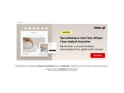Radcaprawnyrybnik.pl Zyman Izabela obsługa prawna