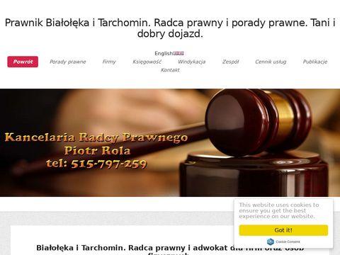 Radcaprawnybialoleka.pl porady dla klientów