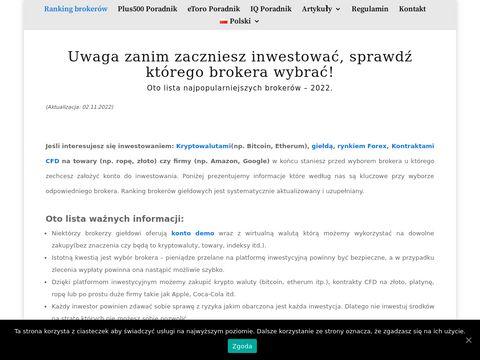 Lokaty bankowe ranking