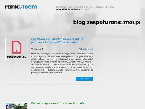 Rankoteam.pl - blog pracowniczy