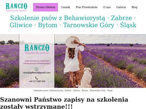 Ranczodlazwierzat.pl szkolenia psów