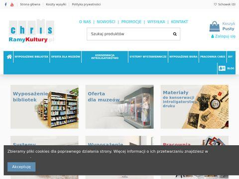 Ramykultury.pl - wyposażenie bibliotek
