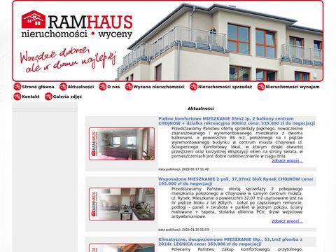 Ramhaus nieruchomości gmina Chojnów