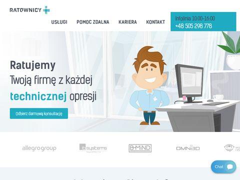 Ratownicy.it - firmy informatyczne Poznań