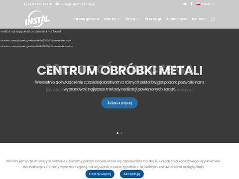 Rauhut.com.pl - gięcie blach