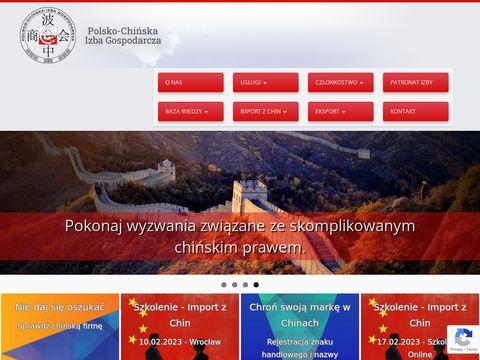 Import z Azji - Raportzchin.pl