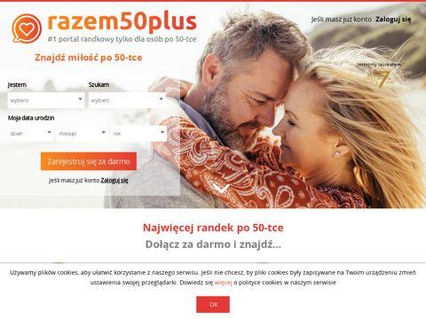 Razem50plus.pl - serwis towarzyski dla osób po 50-ce. Forum 50 plus