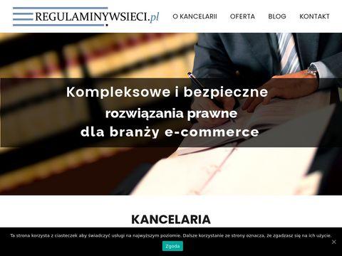 Regulaminywsieci.pl
