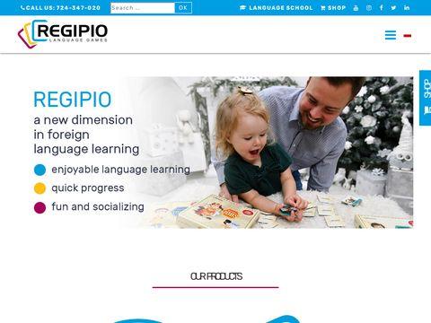Regipio.com gry językowe