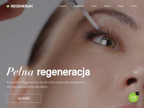 Regenerum.pl serum do rzęs