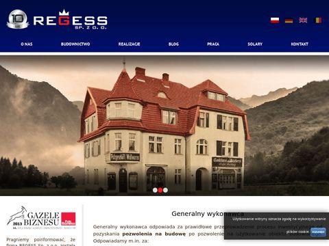 Regess.eu generalny wykonawca buduje domy