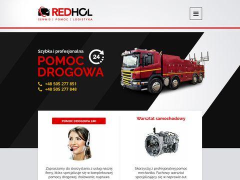 Redhol.pl holowanie busów