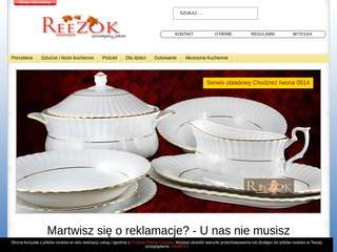 Reezok.pl serwis obiadowy