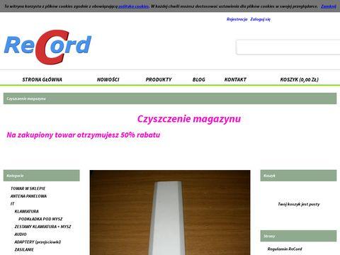 Recordsklep.com.pl anteny wifi