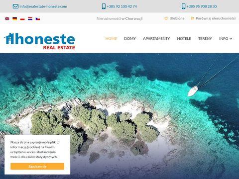 Realestate-honeste.com domy Chorwacja