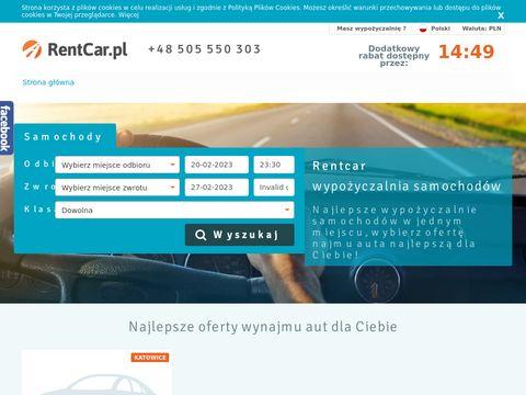 Rentcar.pl wypożyczalnia samochodów Warszawa