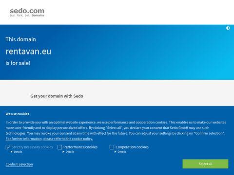 RentAVan.eu - wynajem samochodów dostawczych