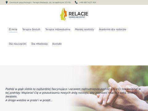 Relacje-gestalt.pl terapia indywidualna Kraków