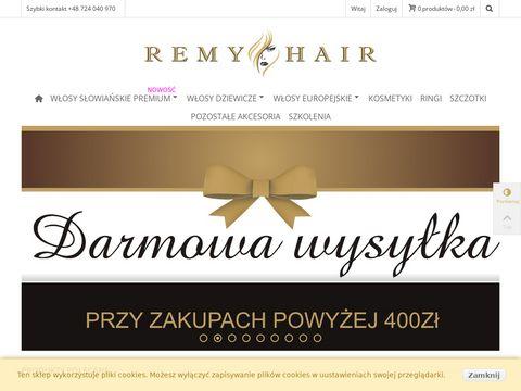 Remy-hair.pl przedłużanie włosów