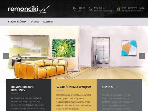 Remonciki.pl Remont Poznań
