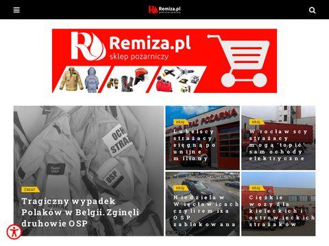 Remiza.com.pl - portal straży pożarnej