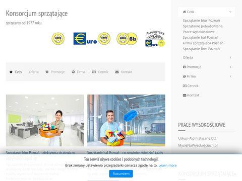Euro Czos - usługi sprzątające Poznań